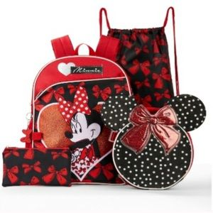NWT Minnie Mouse backpack/lunchbox/
